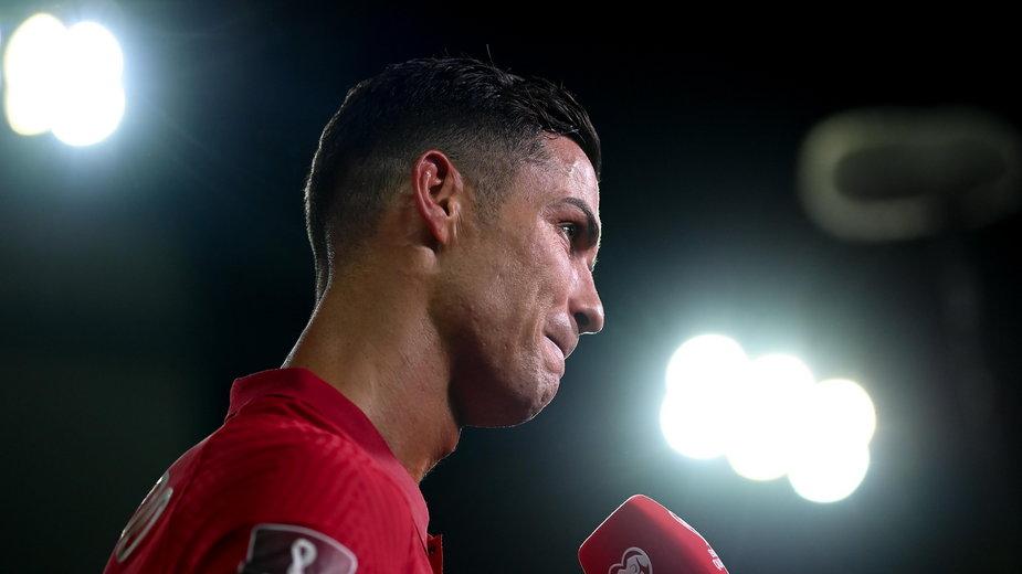 Na zdjęciu Cristiano Ronaldo