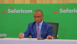 Safaricom Chief Executive officer (CEO) Peter Ndegwa