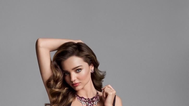 Miranda Kerr for Swarovski Fall/Winter 2015 Ad Campaign