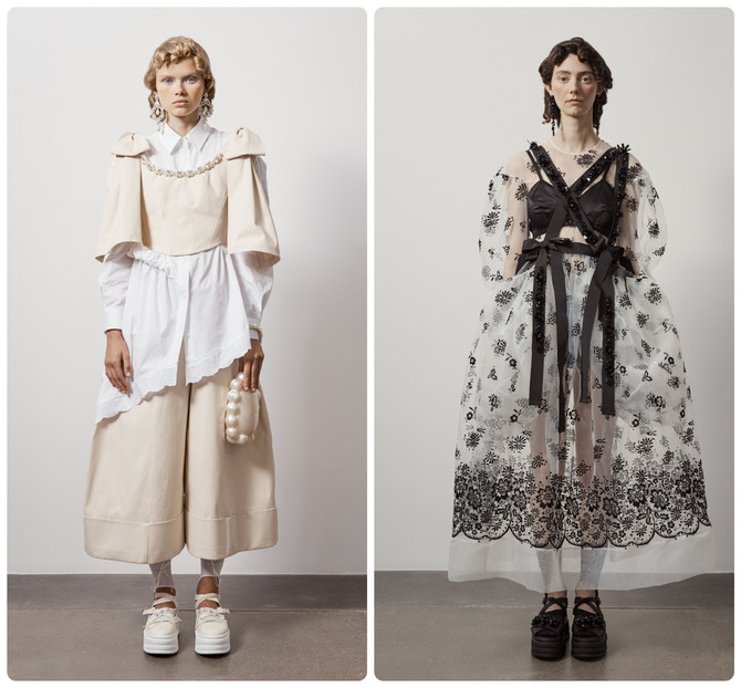 Modeli iz kolekcije Simon Roša
