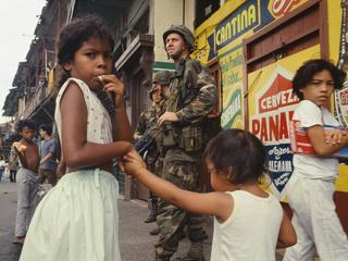"Operation ""Just Cause"" in Panama"