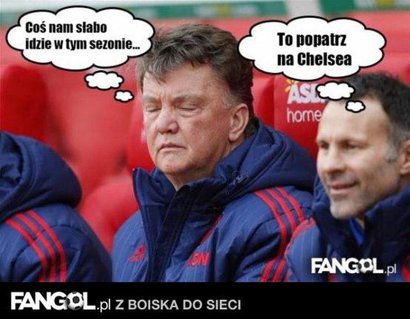 Memy po blamażu Manchesteru United. Fani chcą głowy van Gaala! GALERIA