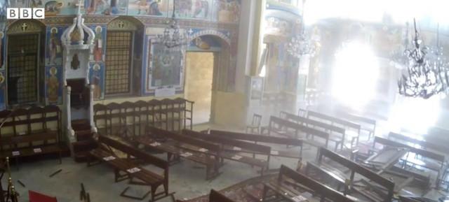 Eksplozija u crkvi blizu bejrutske luke