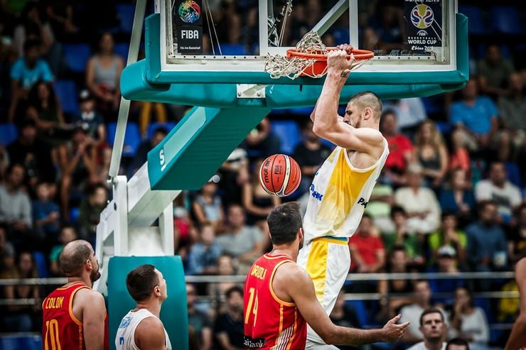 Košarkaška reprezentacija Španije, Košarkaška reprezentacija Ukrajine