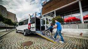 Peugeot Boxer z adaptacją do przewozu osób z niepełnosprawnością