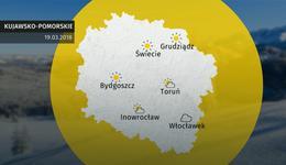 Prognoza pogody dla woj. kujawsko-pomorskiego - 19.03