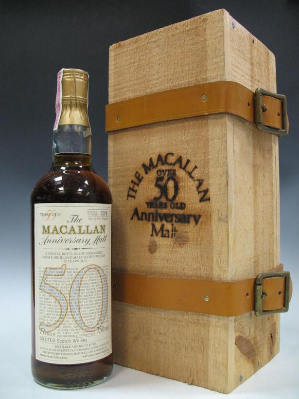 50-letnia Macallan Whisky