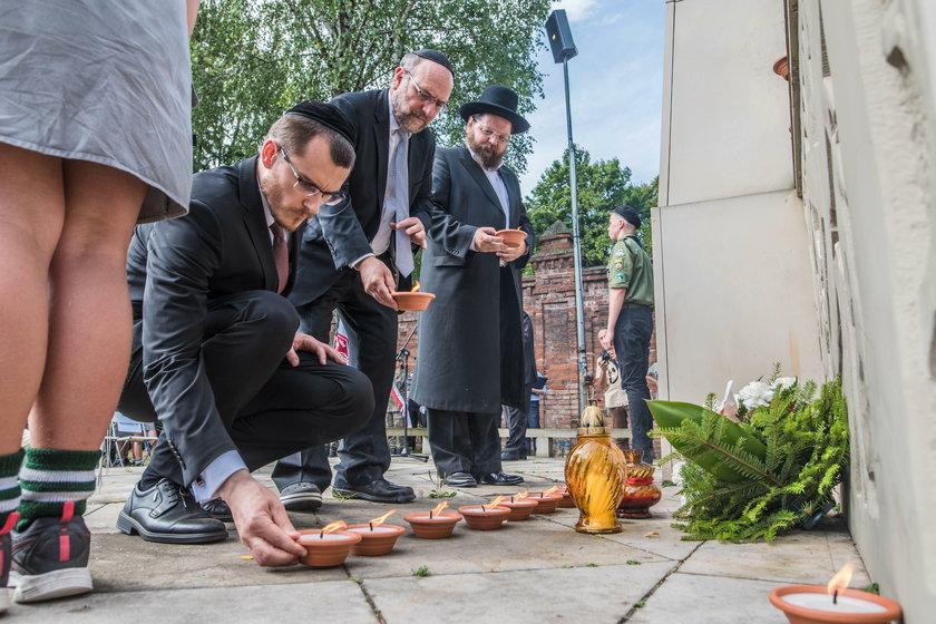 Rocznica likwidacji Litzmannstadt Getto. Marsz pamięci w Łodzi z Cmentarza Żydowskiego na Stację Radegast