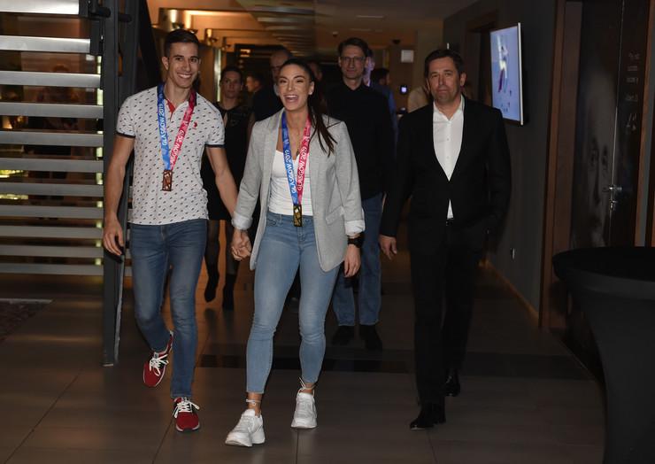 Atletika, Ivana Španović, Strahinja Jovančević, Medalje