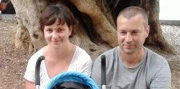 Mariusz, Natalia ich córeczka Maja wracali z wakacji. Ich auto zmiażdżył TIR