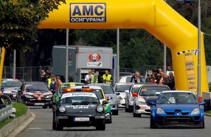 Auto-trke biće na Ušću