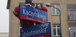 Koniec ulicy Lecha Kaczyńskiego