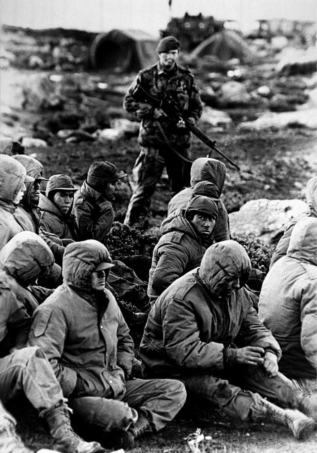 Stara fotografija iz Foklandskog rata