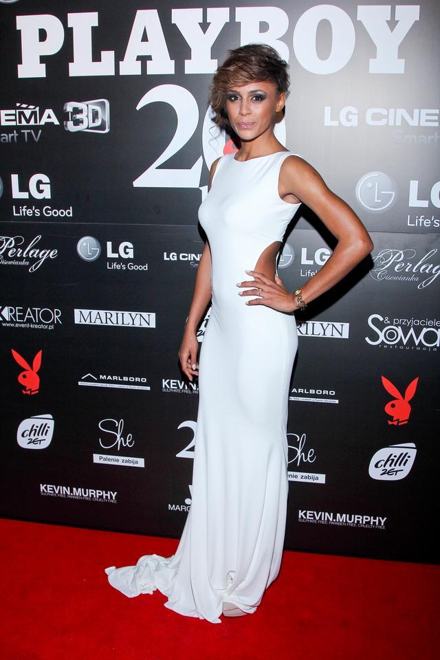 Aleksandra Szwed na imprezie Playboya Fotoerotica 2012