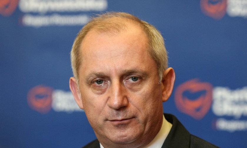 Poseł PO Sławomir Neumann usłyszał zarzuty prokuratorskie