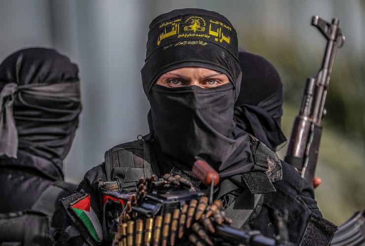 militantni islamisti gaza foto epa mohammed saber
