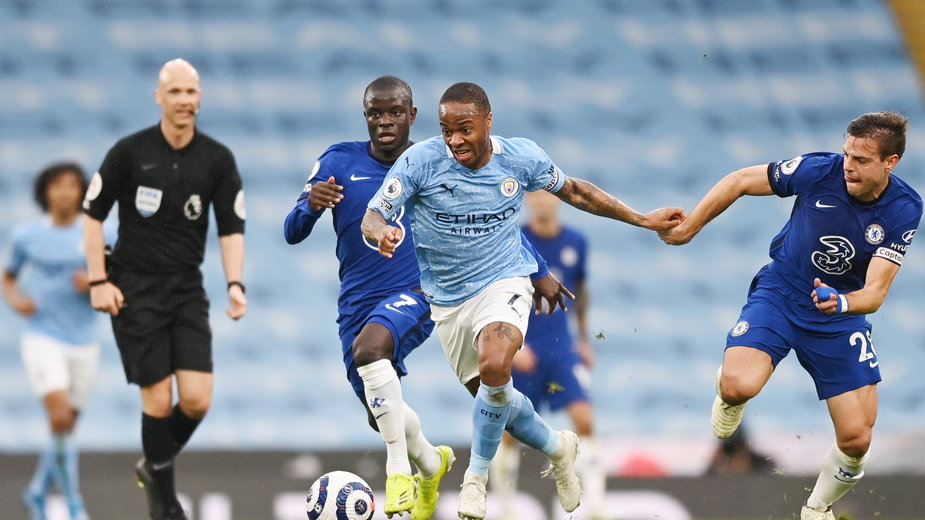 Manchester City - Chelsea Londyn