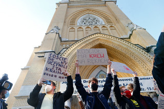 Protesty w kościołach po orzeczeniu Trybunału Konstytucyjnego
