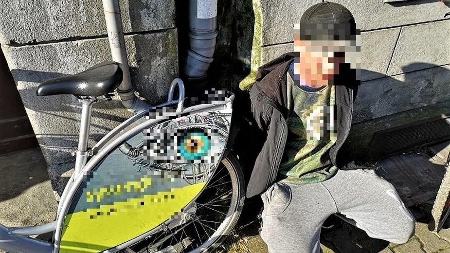 Wrocław: wprost z rowerowej przejażdżki trafił do zakładu karnego