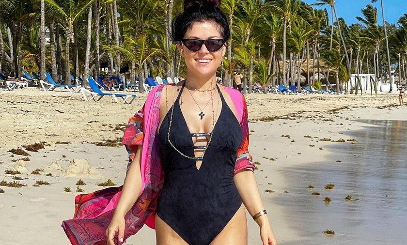 Katarzyna Cichopek pokazała zdjęcia z Dominikany.