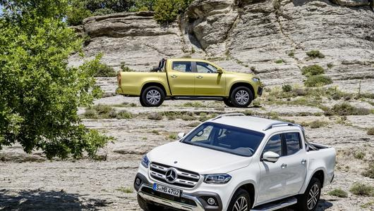 Mercedes X – pick-up klasy premium?