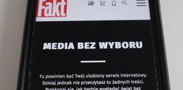 Media bez wyboru. Protest polskich dziennikarzy zauważony na całym świecie