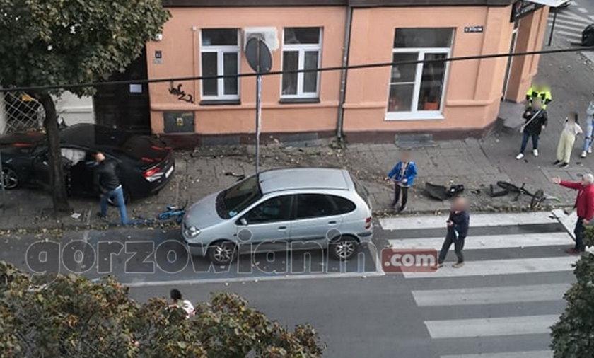 Gorzów Wielkopolski. Na tych zdjęciach widać, co robił kierowca chevroleta po wypadku, w którym zginął 4-latek.