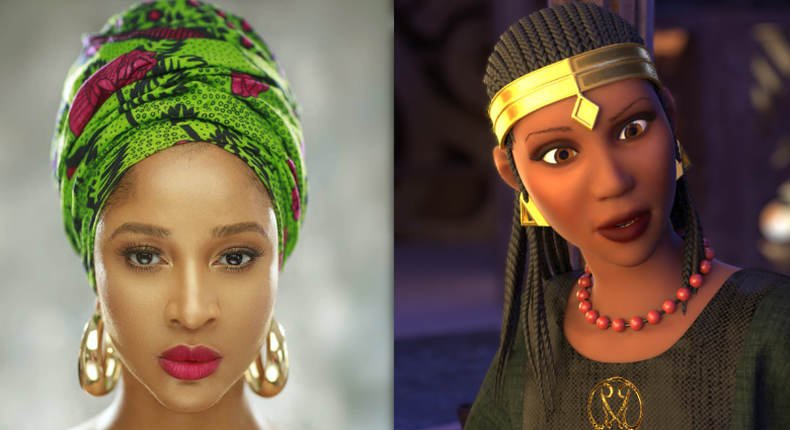Adesua Etomi will be play the lead role in the animated series - 'Malika: Warrior Queen'(YouNeekStudios)