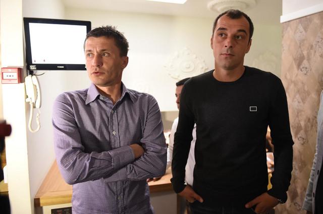 Saša Ilić i Nenad Milijaš