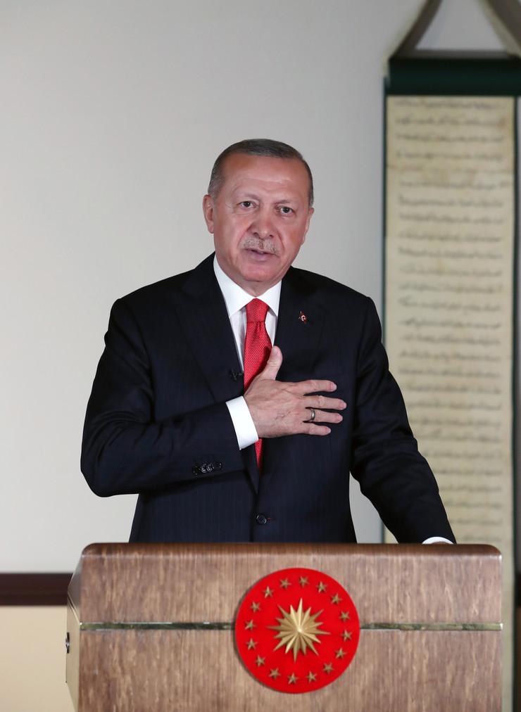 Redžep Tajip Erdogan u obraćanju naciji