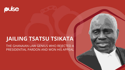 Jailing Tsatsu Tsikata: The Ghanaian law genius who rejected a Presidential pardon and won his appeal