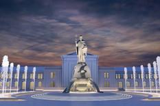 Skulptura Stefana Nemanje 1