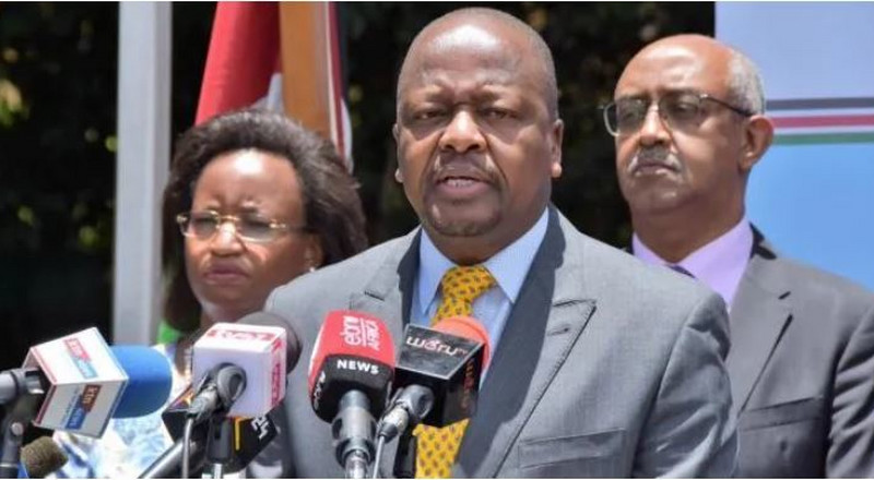 Government to launch special isolation facility for health workers, bear all costs – CS Kagwe