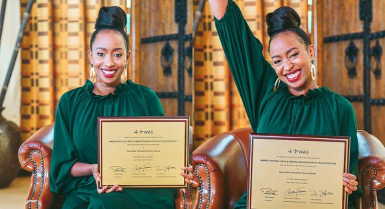 Inua Dada Founder Janet Mbugua