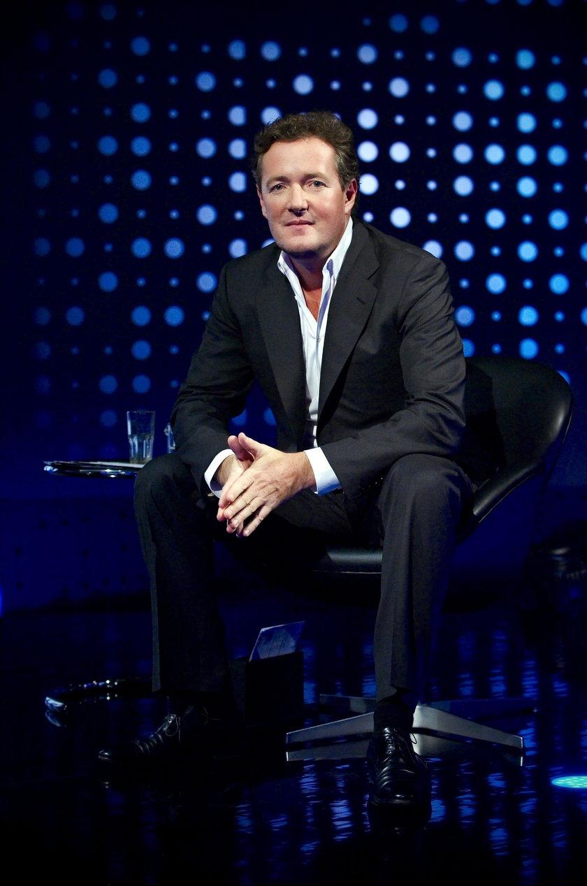 Piers Morgan dziękuje swojej fance