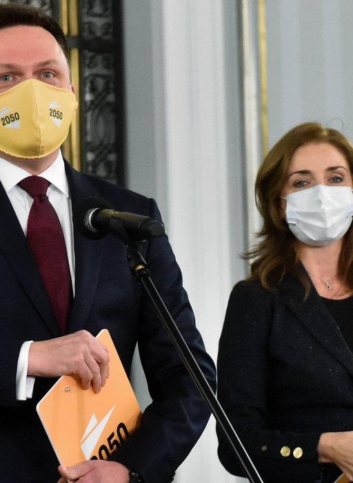 Znowu to zrobił! Hołownia odbił znaną posłankę opozycji
