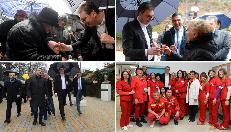 vucic kombo foto Tanjug Predsedništvo Srbije