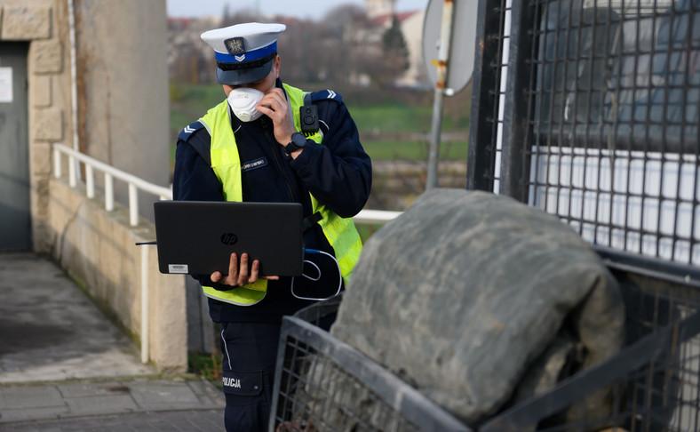 Praca policjanta to wysokie ryzyko