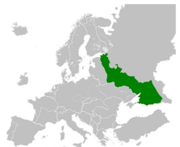 Područje SSSR-a koje je kontrolisao Treći rajh
