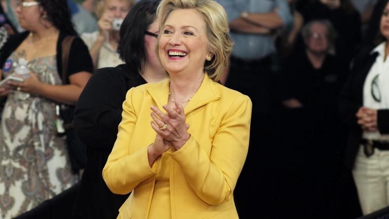 Małżonka byłego prezydenta USA sama kandyduje obecnie na najwyższy urząd i..