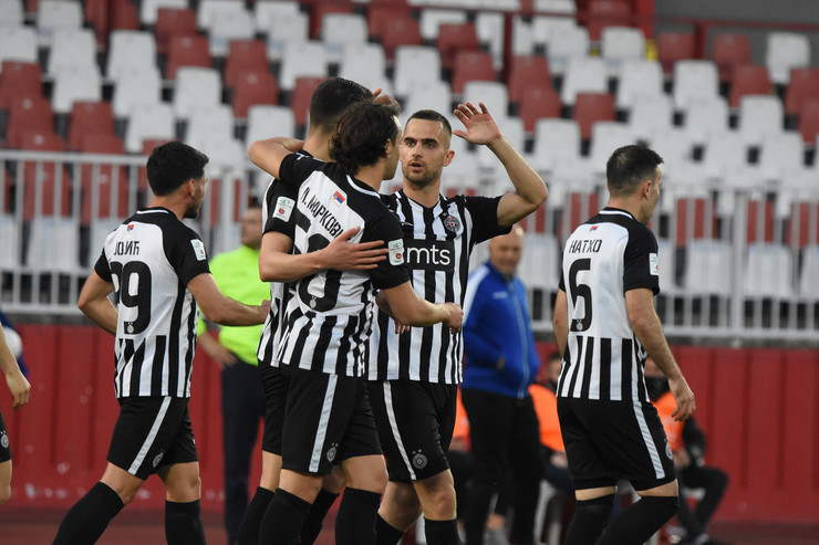 Detalj sa meča FK Vojvodina - Partizan