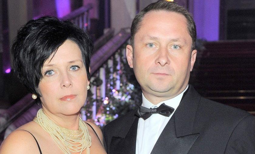 Żona wspiera Durczoka, choć żyją w separacji