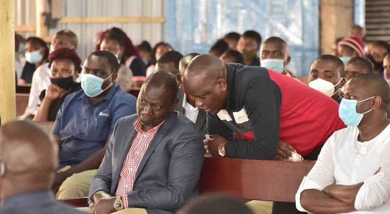 DP William Ruto was removed from Covid19 conference - Dennis Itumbi