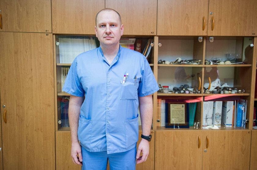 Doktor Łukasz Dudka