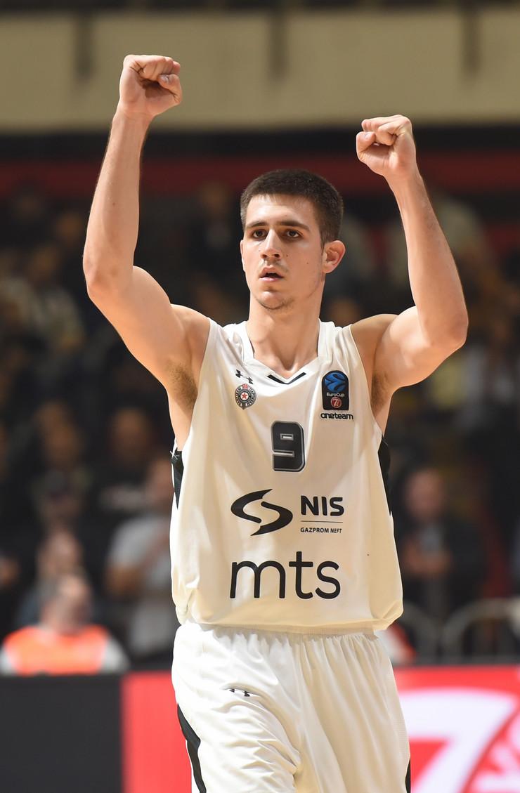 KK Partizan, Vanja Marinković