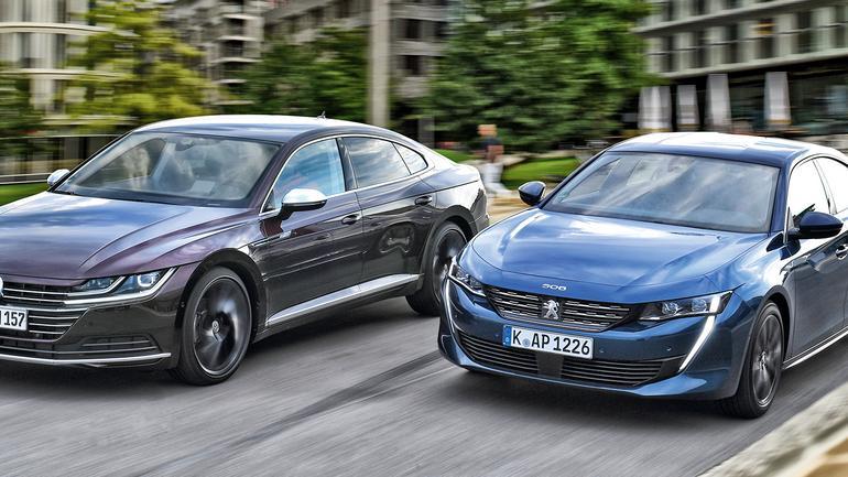Peugeot 508 kontra Volkswagen Arteon