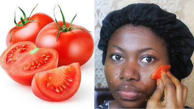 Tomatoes does magic to the skin...here's how