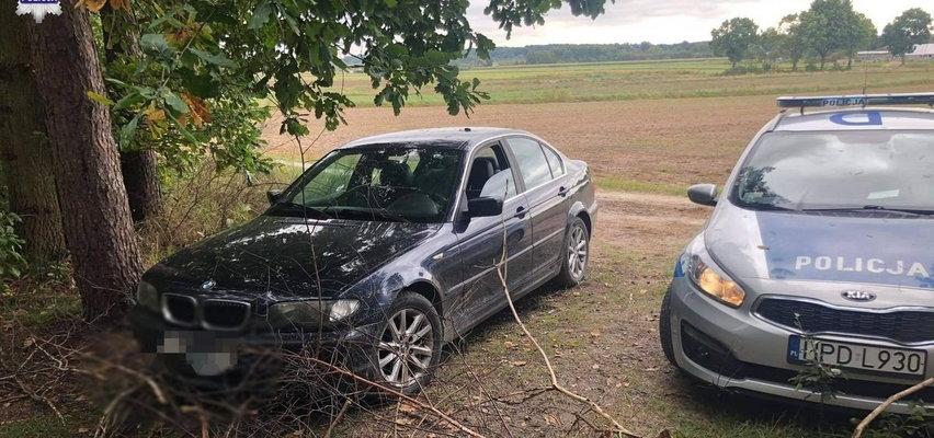 Mimo zakazu prowadzenia po pijaku wsiadł z rodziną do BMW i uciekał przed policją