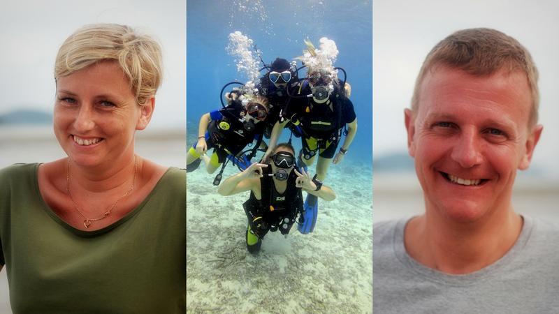Piotr i Małgorzata Paulo i ich podwodne życie w Tajlandii