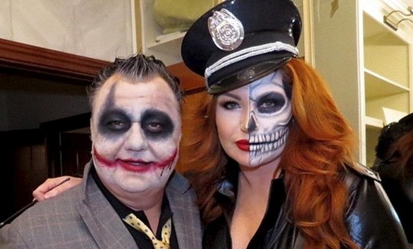 Marta Grycan świętuje Halloween